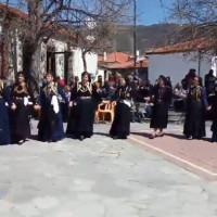 Αναβίωσε και φέτος το πατροπαράδοτο έθιμο «ο Χορός της Ρόκας» και ο «Διπλός χορός» στο Σισάνι Βοΐου – Δείτε το βίντεο