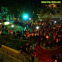 Δείτε βίντεο από την Ανάσταση στην Κεντρική Πλατεία Σερβίων
