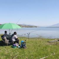 Με επιτυχία έκλεισε το πρώτο διήμερο των αγώνων αθλητικής αλιείας στη λίμνη Πολυφύτου