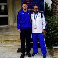 Ο Χρήστος Παπαδόπουλος της Μακεδονικής Δύναμης Κοζάνης στο Taekwondo Hammamet 2018 Παγκόσμιο Πρωτάθλημα Ε/Ν