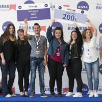 1η θέση για την ομάδα του ΕΠΑΛ Σερβίων στον όμιλο της και 6η θέση στη γενική κατάταξη στον Πανελλήνιο Μαθητικό Διαγωνισμό Young Business Talents