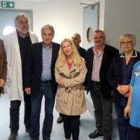 Επίσκεψη του βουλευτή του ΣΥΡΙΖΑ Κοζάνης Γ. Θεοφύλακτου στο Μποδοσάκειο Νοσοκομείο Πτολεμαΐδας