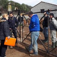 Επίσκεψη του Φώτη Ζυγούρη σε γεωργοκτηνοτρόφους στα Ίμερα