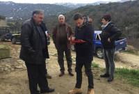 Επίσκεψη του προέδρου της Κοινωφελούς Επιχείρησης Δήμου Σερβίων – Βελβεντού στο Πλατανόρρευμα