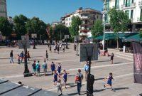 Ξεκίνησε το Τουρνουά Μπάσκετ 3×3 στην κεντρική πλατεία της Κοζάνης – Δείτε φωτογραφίες