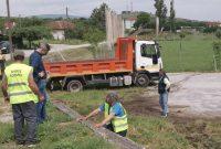 Στο Δρέπανο συνεργείο της Αντιδημαρχίας Περιβάλλοντος υλοποιώντας το σχέδιο ολοκληρωμένων παρεμβάσεων στον Δήμο Κοζάνης
