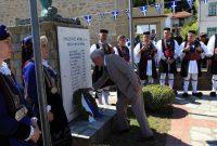 Τελέστηκε το ετήσιο Μνημόσυνο υπέρ πεσόντων Μακεδονομάχων στη μάχη της Οσνίτσανης στη Δαμασκηνιά Βοΐου