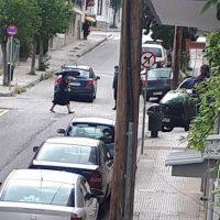 Άλλο ένα τροχαίο ατύχημα στη διασταύρωση των οδών Σμύρνης με Πανόρμου στην Κοζάνη – Δείτε φωτογραφίες