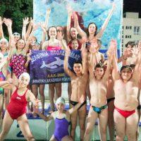 Τα Δελφίνια Πτολεμαΐδας πρώτη ομάδα στους θερινούς αγώνες