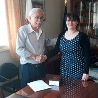 Ορκίστηκε η νέα Πρόεδρος στην Τοπική Κοινότητα Πελεκάνου κ. Δέσποινα Ζαρογιάννη