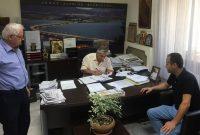 Υπογραφή σύμβασης για κατασκευή πεζοδρομίου σε επαρχιακή οδό Βαθυλάκκου – Ροδίτη