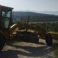 Εργασίες συντήρησης αγροτικής οδοποιίας στο Δήμο Σερβίων – Βελβεντού
