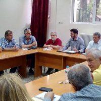 Επίσκεψη του Γραμματέα της Κεντρικής Πολιτικής Επιτροπής του Κινήματος Αλλαγής Μανώλη Χριστουδουλάκη στην Κοζάνη