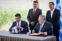 Στιγμές που θα μείνουν στην Ιστορία γράφτηκαν στις Πρέσπες: Έπεσαν οι υπογραφές της συμφωνίας για το Σκοπιανό