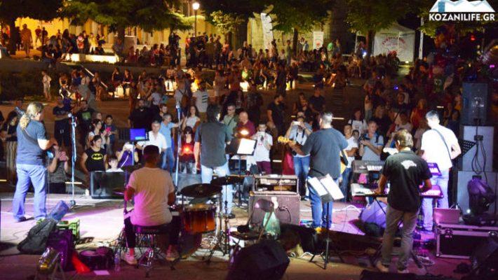 Πραγματοποιήθηκε η φιλανθρωπική ροκ συναυλία για τον Αλέξανδρο Μελισσινό στην κεντρική πλατεία Κοζάνης – Δείτε βίντεο και φωτογραφίες