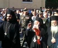 Η Επίσημη υποδοχή του Πατριάρχη στην κεντρική πλατεία της Κοζάνης – Δείτε όλη την εκδήλωση!