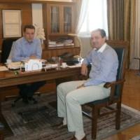 Συνάντηση του Δημάρχου Κοζάνης με τον βουλευτή  Γιώργο Κασαπίδη