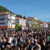 Συμμετοχή του Δήμου Σερβίων – Βελβεντού στο συλλαλητήριο της Καστοριάς