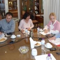 Επίσκεψη στο ΕΒΕ Κοζάνης της βουλευτού του ΣΥΡΙΖΑ Ευγενίας Ουζουνίδου