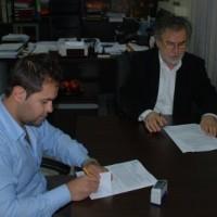 Υπογραφή σύμβασης της Β' φάσης επέκτασης και αντικατάστασης δικτύων ύδρευσης Τρανοβάλτου
