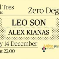 Μουσικό event στο Nivel Tres Bar: Zero Degrees  Leo Son & Alex Kianas