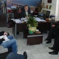 Συνάντηση του Δημάρχου Σερβίων – Βελβεντού με την βουλευτή Ευγενία Ουζουνίδου