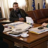 Συνάντηση του Δημάρχου Κοζάνης με την βουλευτή Ραχήλ Μακρή