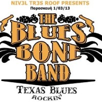 Nivel Tres Roof presents: The Blues Bone Band!