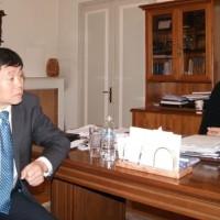 Με τον Κινέζο πρέσβη συναντήθηκε ο Δήμαρχος Κοζάνης