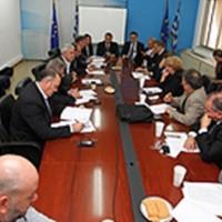 Συνάντηση Περιφερειαρχών με Υπουργούς Εσωτερικών και Τουρισμού
