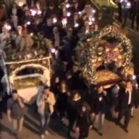 Η περιφορά του Επιταφίου στα Σέρβια – Βίντεο