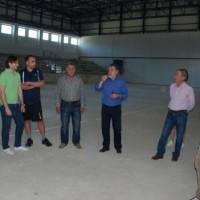 Επίσκεψη της Αναγέννησης Σερβίων στο κλειστό γυμναστήριο