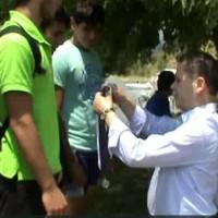 Αγώνες κωπηλασίας στην Λίμνη Πολυφύτου – Δείτε το βίντεο