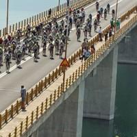 O 8ος Ποδηλατικός γύρος στην υψηλή Γέφυρα Σερβίων! Δείτε το όμορφο βίντεο