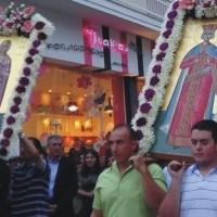Σέρβια: Περιφορά ιερού λειψάνου Αγ. Θεοδώρας – Βίντεο