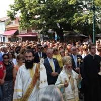 Λιτάνευση της Ιεράς Εικόνας της Παναγίας στο Βελβεντό Κοζάνης – Βίντεο