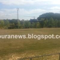 Καστοριά: Δείτε βίντεο με τα στρατιωτικά ελικόπτερα που προσγειώθηκαν στο γήπεδο Διποταμίας!