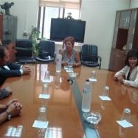 Συνάντηση για το θέμα των αποθέσεων μεταξύ δημάρχων Εορδαίας και Αμυνταίου και διευθύντριας του Λ.Κ.Δ.Μ.