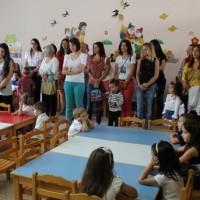 Αγιασμός στους παιδικούς σταθμούς του Βοΐου