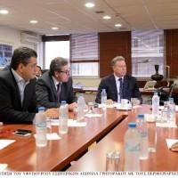 Συνάντηση Περιφερειαρχών με τον Αναπληρωτή Υπουργό Εσωτερικών, κ. Λεωνίδα Γρηγοράκο