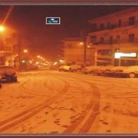 Βίντεο από τη χιονόπτωση στα Σέρβια!
