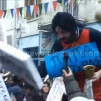 Κι όμως! Είναι ο Βουλευτής Διαμαντόπουλος! Ντύθηκε «Παπα – Σούρας»! Βίντεο