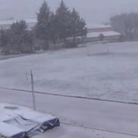 Το… Χιονισμένο Γήπεδο Σερβίων! Βίντεο…