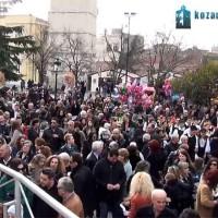 Μικρή Αποκριά 2014 στην Κοζάνη με την είσοδο του Καρνάβαλου στην κεντρική πλατεία! Βίντεο