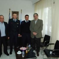 Περιφέρεια Δυτ. Μακεδονίας: Επίσκεψη στην Αστυνομική Υποδιεύθυνση Πτολεμαΐδας – Βίντεο