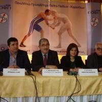 Συνέντευξη τύπου για το Πανελλήνιο Πρωτάθλημα Ελληνορωμαϊκής και Ελευθέρας Πάλης στην Πτολεμαΐδα