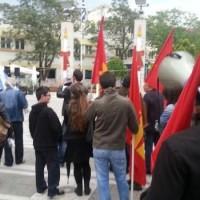 Το Σωματείο εργατοτεχνιτών και εργαζομένων στην Ενέργεια στη συγκέντρωση τις 8ης Μαρτίου στην Πτολεμαΐδα