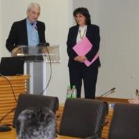 Παρουσία του Γιάννη Μπουτάρη η ομιλία της Γεωργίας Ζεμπιλιάδου στην πρώτη της παρουσίαση του Συνδυασμού της