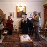 Επίσκεψη του Θεόδωρου Καρυπίδη στον Σεβασμιότατο Μητροπολίτη Καστοριάς