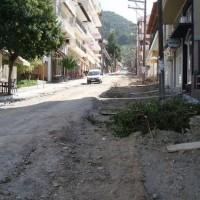 «Εργοτάξιο» η «117 Εθνομαρτύρων» στα Σέρβια
